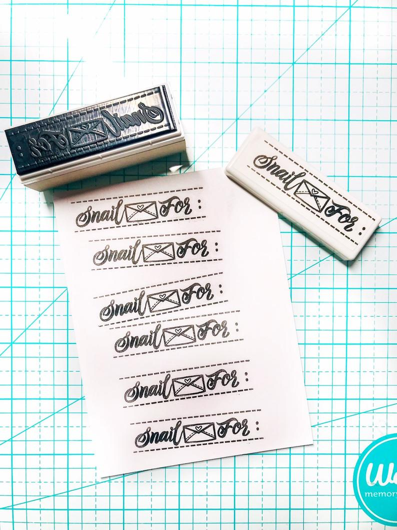 Snail Mail for Stamp ArtfulGeetCreations