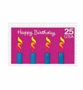 Mystic Stamp USA-2395 1988 25c Happy Birthday USPS