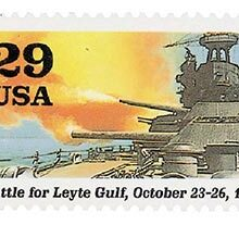USPS Battle for Leyte Gulf 29¢ Stamp & Battle for Leyte Gulf 75th Anniversary Commemoration Event Today
