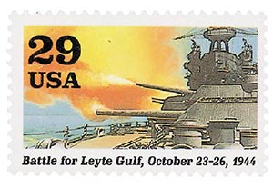 USPS Battle for Leyte Gulf 29¢ Stamp