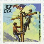 First Transcontinental Telephone Line Stamp & on staying current