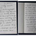 Daylight Savings handwritten letter