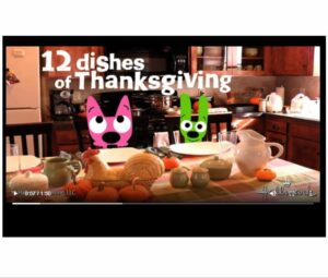 Twelve Plates of Thanksgiving 2019 Hallmark ecard