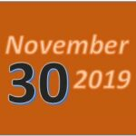 AnchoredScraps November 2019 Blog Recap