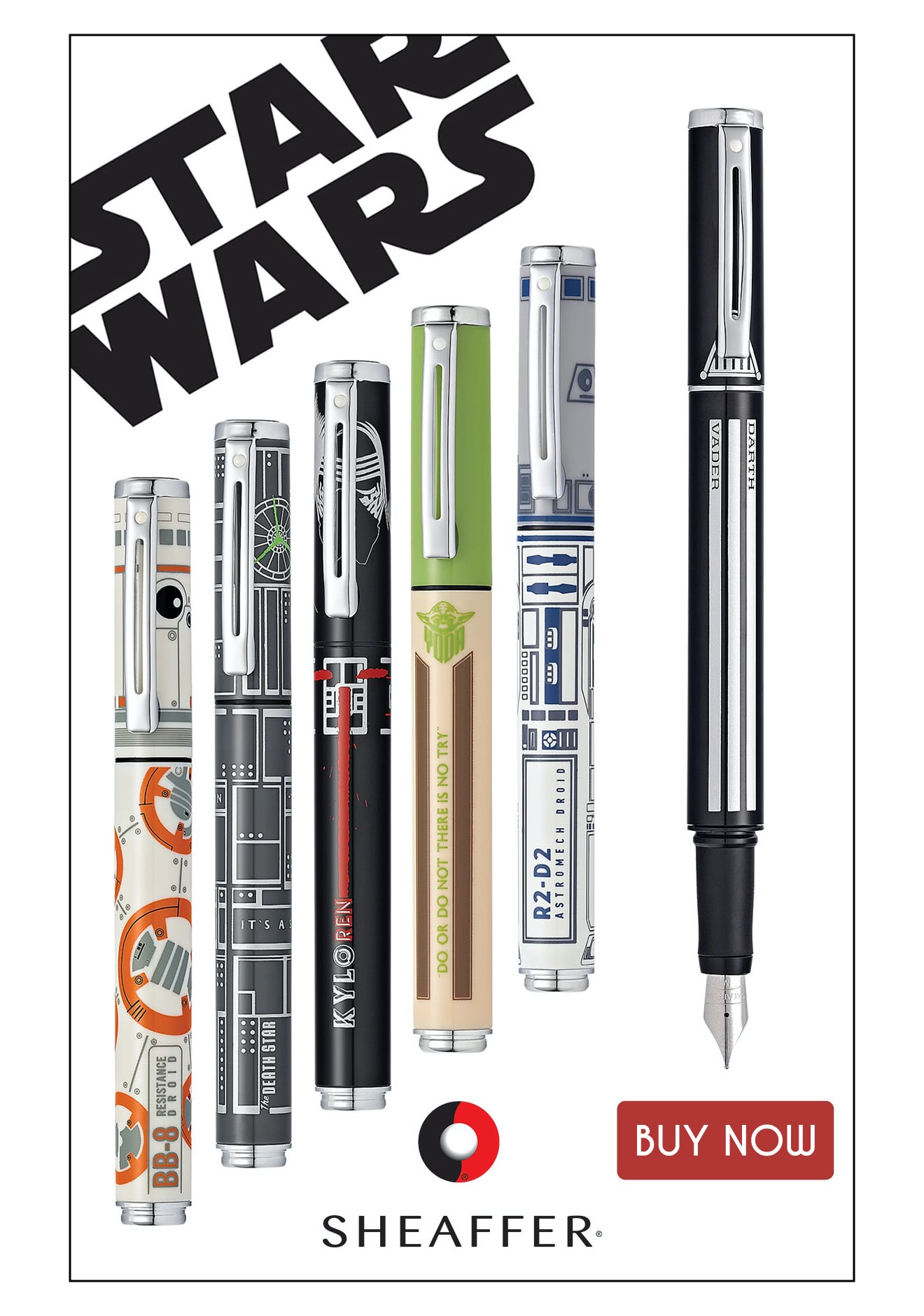 Sheaffer Pop Fountain Pen Star Wars