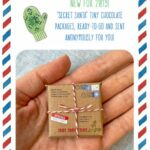 Secret Santa Tiny Mail Chocolate Packages