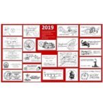 MANY 2019 Christmas Holiday Pictorial Postmarks