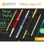 Goldspot Pens 12 Days Underway