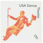 Scott 1750 American Dance Theater Stamp & Celebrating AnchoredScraps 1750 Daily Blog Post Today