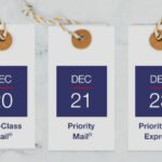 USPS Holiday Deadlines Approaching Includes First Class Mail Dec 20