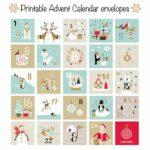 Advent Calendar Envelope Printables