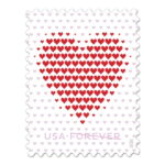 Valentines Forever (& for other letter writing occasions too): Made of Hearts stamp