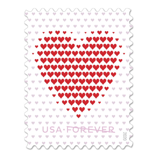 Made of Hearts stamp #572404