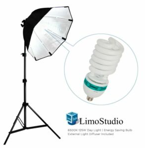 LimoStudio Continuous Softbox Lighting Light Kit