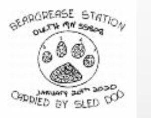 Beargrease Sled Dog Marathon 2020 Pictorial Postmark