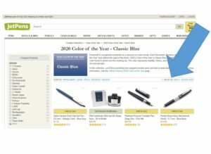 Jet Pens 2020 Color of the Year Classic Blue