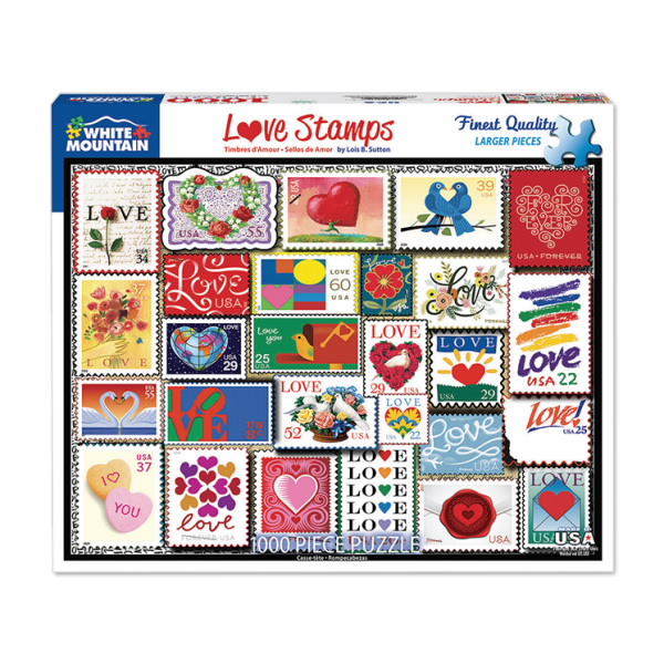 Love Stamps Puzzle 843202-Z0