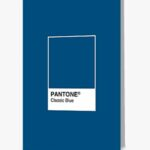 Redbubble Greeting Card Pantone Classic Blue 2020 Color of the Year