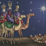 Epiphany Large Postcard Style Greeting Cards