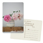 Peonies Postcard Set by Sadie Olive
