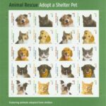 Adopt a Shelter Pet Stamps 2010 & #NationalLoveYourPetDay February 20 2020