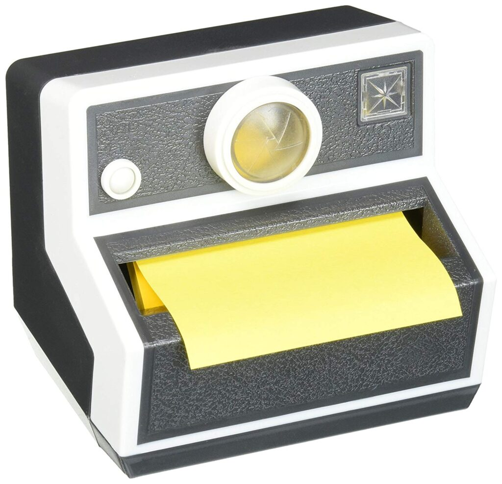 3M PopUp Note Dispenser Polaroid Sticky Notes Options