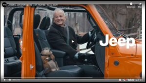 Bill Murray Groundhog Day Jeep SuperBowl Ad