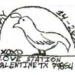 Three Valentines Pictorial Postmarks 2020