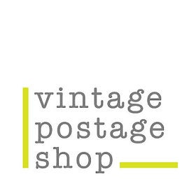 VintagePostageShop Curated postage logo