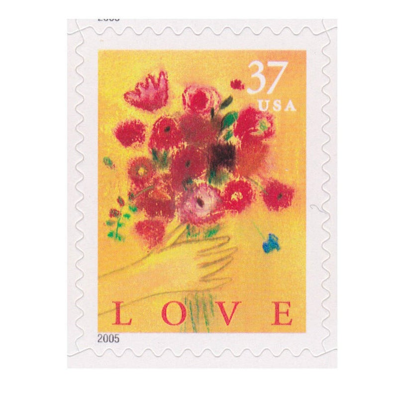 Love Bouquet 2005 Stamp