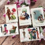 Leap Year Day, AnchoredScraps February Recap 2020, & Vintage Leap Year Postcards