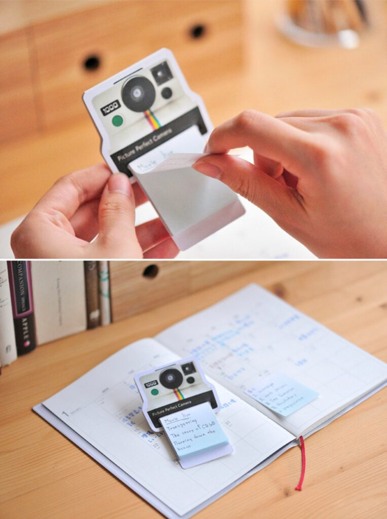 Polaroid Sticky Notes Options