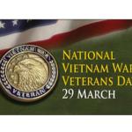 National Vietnam War Veterans Day 29 March