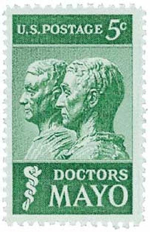 Doctors Mayo 1964 Stamp