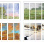 Four Seasons Printable Bookmarks