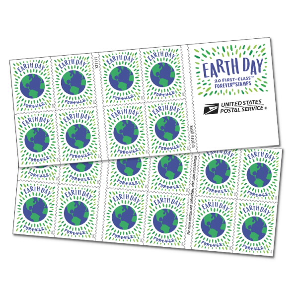 USPS Earth Day Stamps