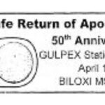 Apollo 13 Safe Return Pictorial Postmark 50th Anniversary