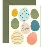 GingerPDesigns Easter Egg Greeting Card