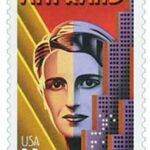 Ayn Rand 33c Stamp 1999 Literary Arts Series