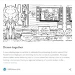 USPS Drawn together coloring page & USPS Stamp Sales Are Up