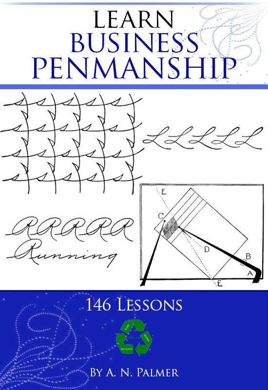 Palmer Method Penmanship Business Writing 1915 Printable
