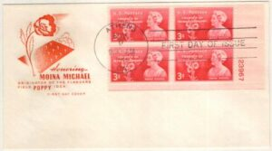 Michael Poppy Stamp Cachet