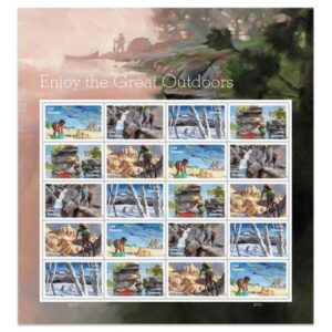 Enjoy Great Outdoors Stamps USPS