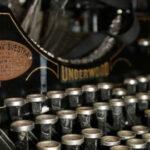 Typewriter Notebook Blank Journal