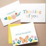 Botanical Paperworks Thoughtful Plantable Seed Card Set