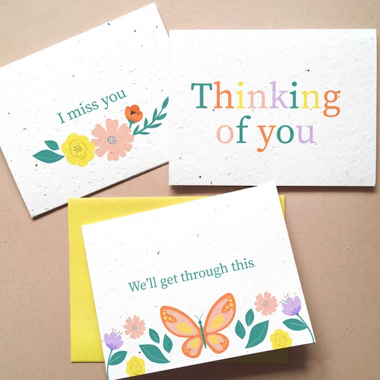 Botanical Paperworks Thoughtful Plantable Seed Card