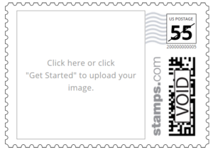 Custom PhotoStamps Stamps.com Customized Postage Program