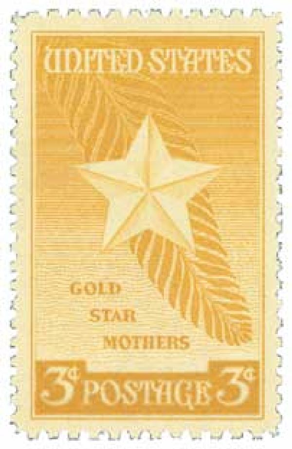 Gold Star Mothers 1948 3¢ Stamp