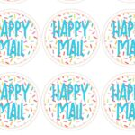 Happy Mail Printable Sprinkles N Stuff