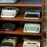 Helen's typewriter collection
